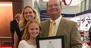 Dr. Sean Powers receives Dean's Lecture Award from Univ. of South Alabama College of Arts and Letters