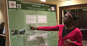 DISL students present at University of South Alabama Graduate Symposium