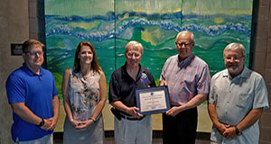 Dauphin Island Sea Lab receives Above and Beyond Award