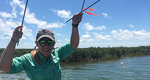 Ph.D. student to conduct research at Smithsonian Marine Station