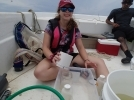 DISL Spotlight: Former REU participant continues research at Sea Lab as masters student