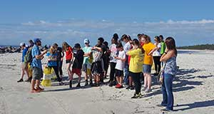 Thompson Middle School students continue Dauphin Island Sea Lab tradition